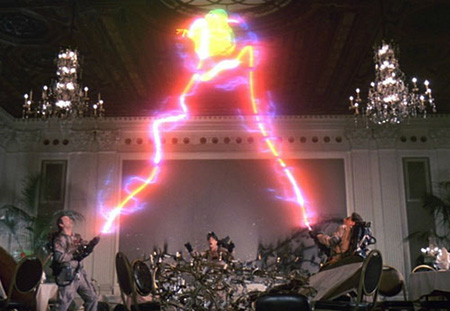 Ghostbusters call in for the Holy Ghost Spirit