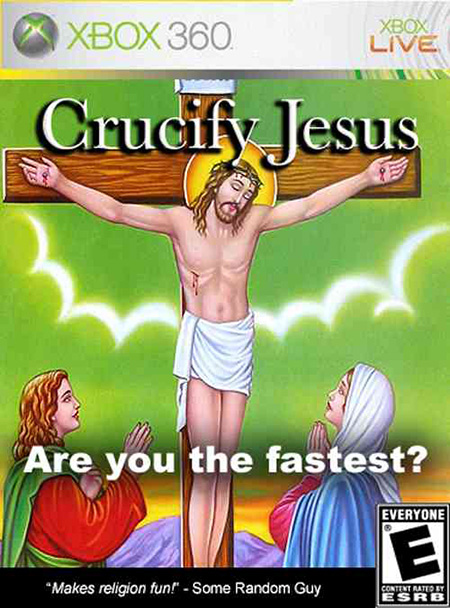 Crucify Jesus: are you the fastest?